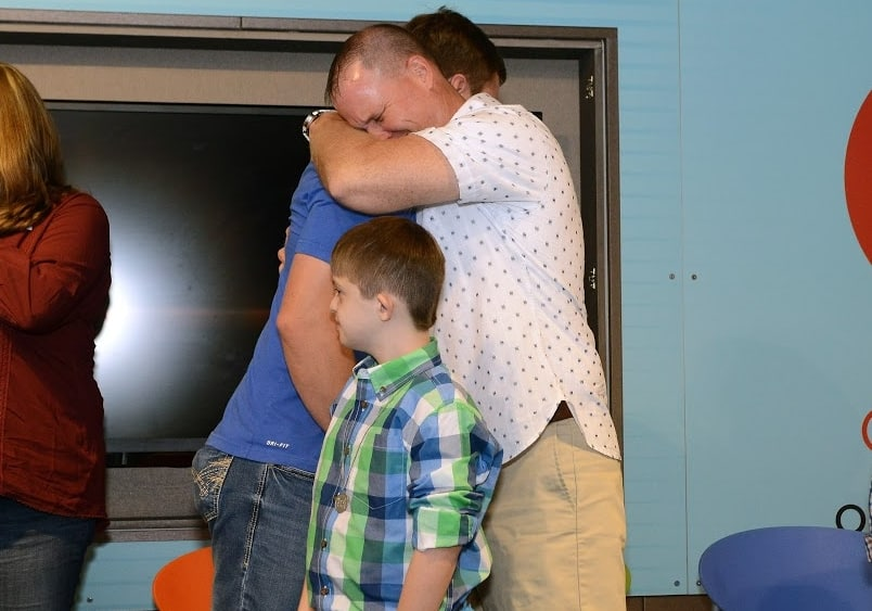14-year-old Children's cancer patient from Oneonta met man who saved his life