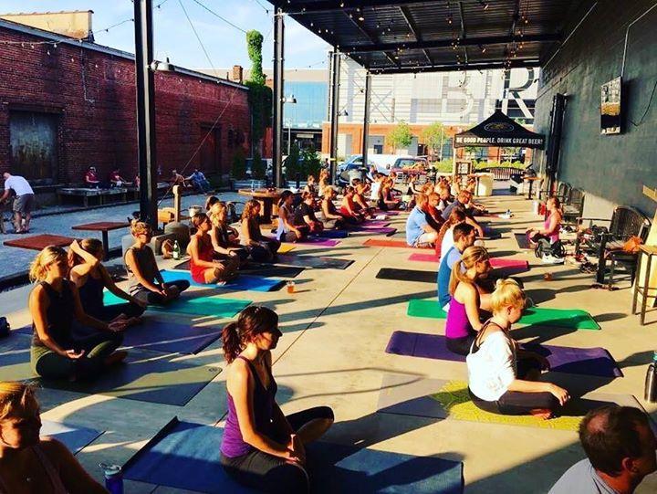 Happy Hour Yoga Birmingham Top Things to Do