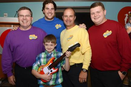 Payton Ray and the Wiggles