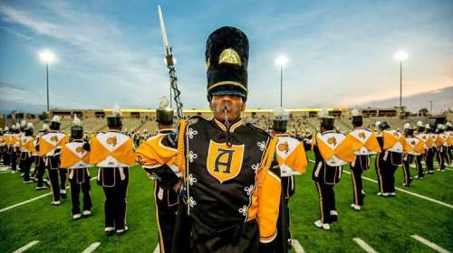 ASU, Band, Alabama State University, Magic City Classic, Birmingham, Alabama