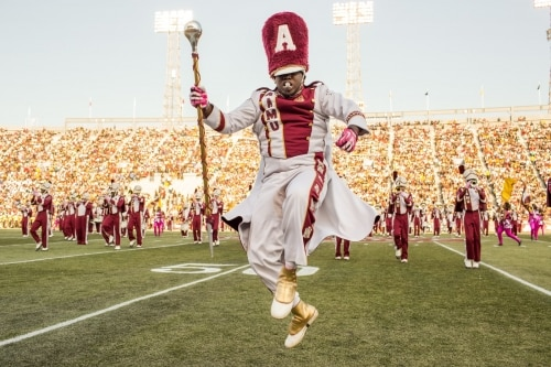 Alabama AAMU, marching band, Magic City Classic, Birmingham, Alabama