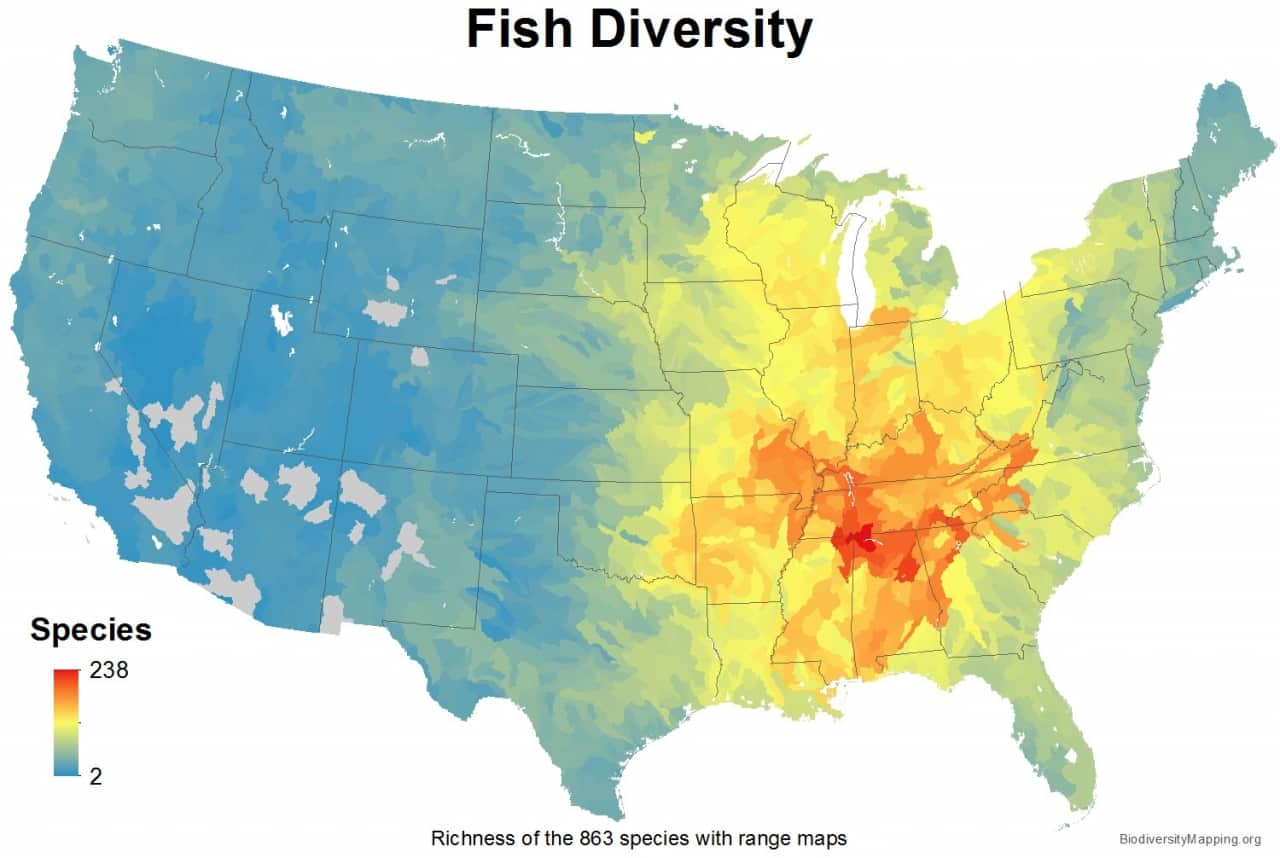 Who Knew Alabama ranks first in biodiversity How did that happen