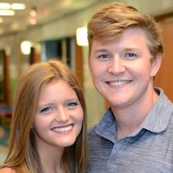 Hannah Acton and Logan Whitehead