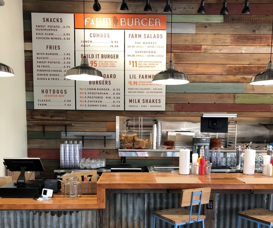 Farm Burger opens 12th location in Birmingham at The Waites