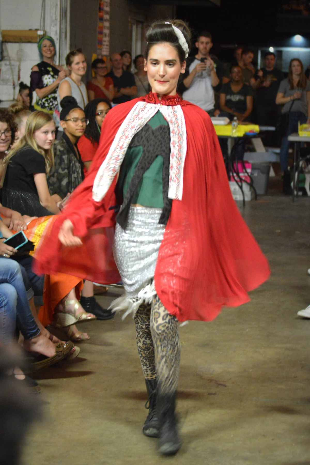 Thrift Store Runway show raises money for the Bib & Tucker Sew-Op