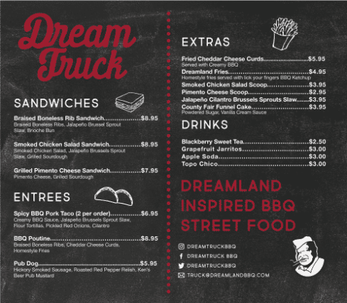 Dreamland Bbq Food Truck