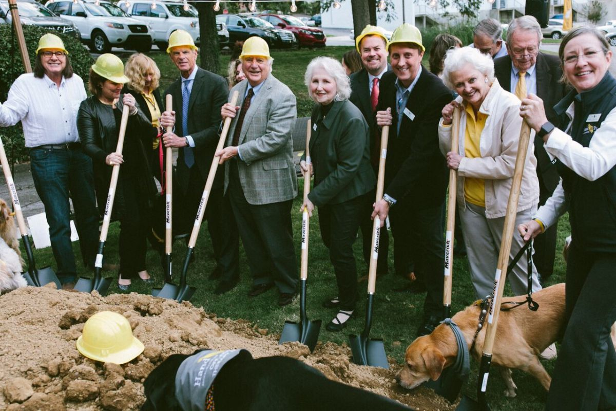 Hand in Paw breaks ground on new headquarters