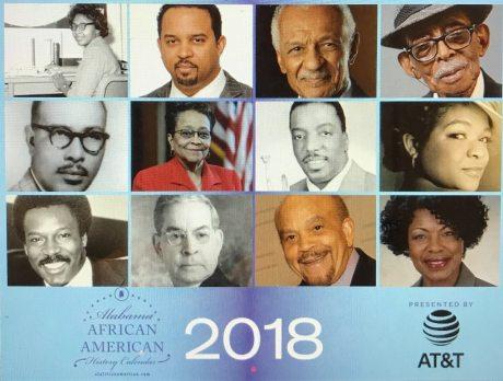 Alabama Africa-American History Calendar.