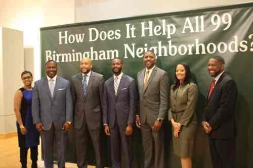 Birmingham, Alabama, mayor, randall woodfin, executive team