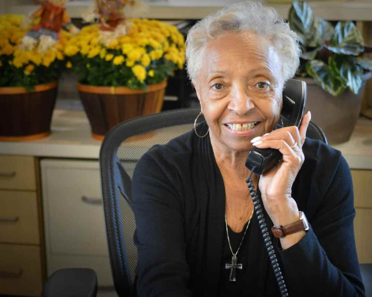 Julia Wesley has served customers at Adamson Ford for 44 years