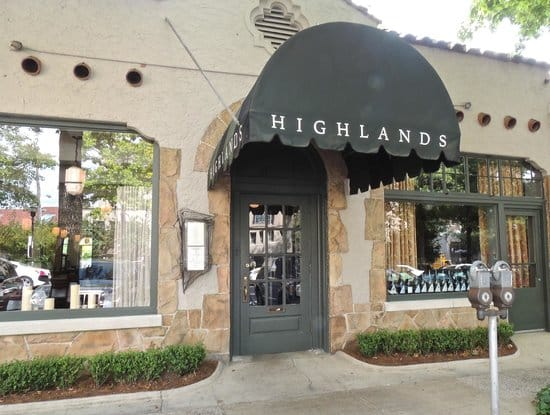 Highlands Bar and Grill named one of America's top restaurants by Eater