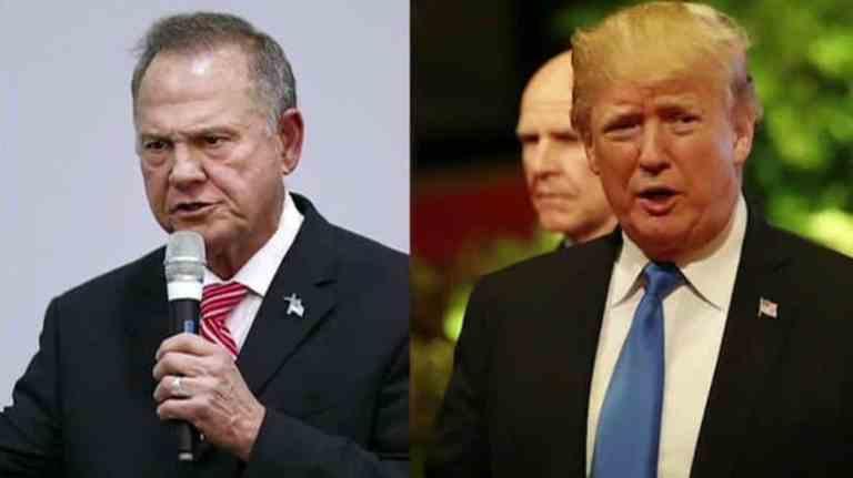 Donald Trump, Roy Moore, Birmingham, Alabama, Senate, Election