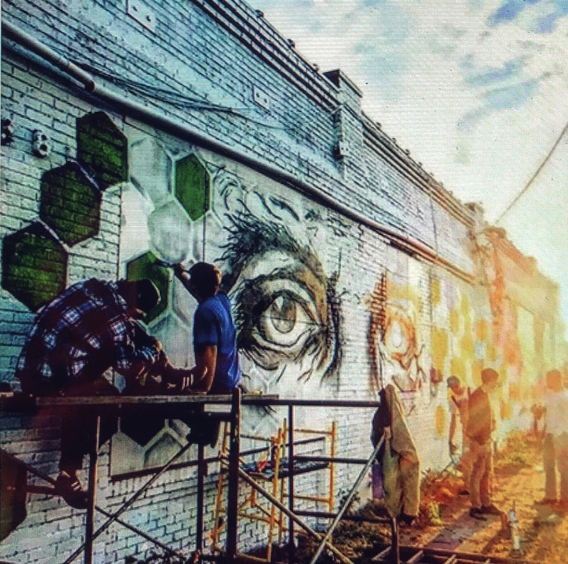 Bham Now's Instagram spotlight on Birmingham murals