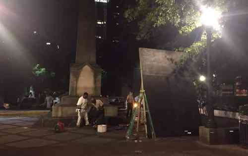 Birmingham, Alabama, confederate, monument, Linn Park