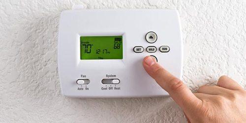 Birmingham thermostat set at 68 degrees.