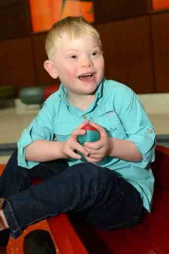 Birmingham, Alabama, Children's of Alabama, Beaux Waites, patient, Down Syndrome