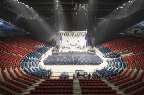 Birmingham, Alabama, BJCC, concert, stage
