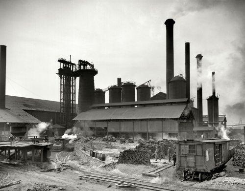 Birmingham, Sloss Furnaces, Steel City, iron, steel