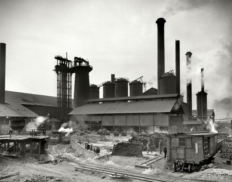 Birmingham, Sloss Furnaces, Steel City, iron, steel