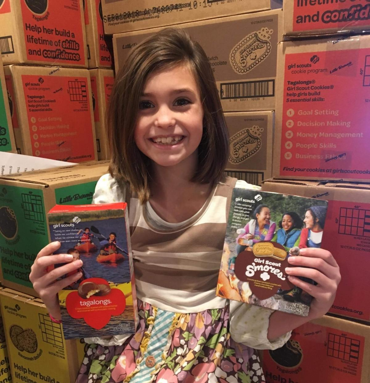 Local Girl Scout Troop does big things for Birmingham via cookie sales