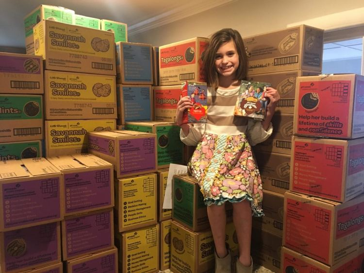 Birmingham, Trussville, Girl Scouts, Girl Scout troops, fundraisers, Girl Scout cookies, cookies