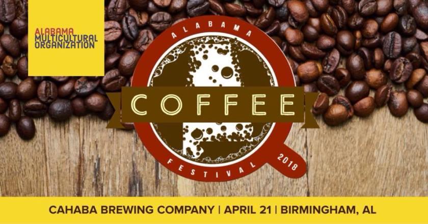 Birmingham, Coffee Fest, AMOR, Alabama Multicultural Organization, coffee, Cahaba Brewery