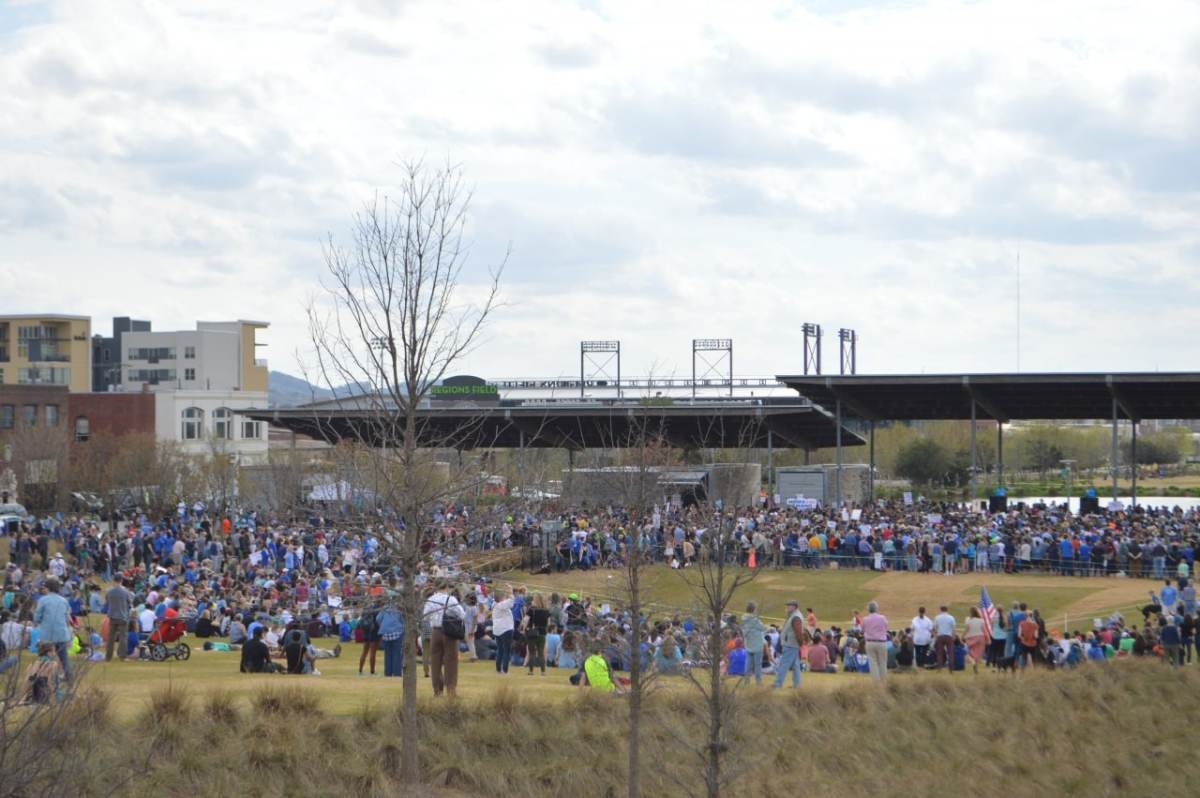 Thousands join March for Our Lives rally at Railroad Park (photo gallery)