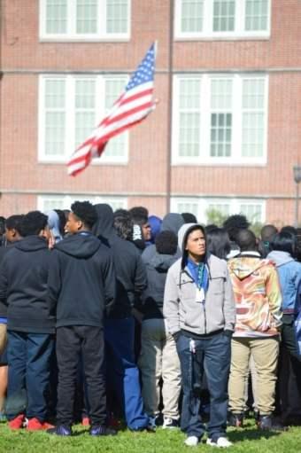 Birmingham, Alabama, Woodlawn, students, high school, gun, violence, safety