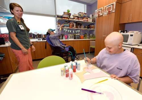 Birmingham, Alabama, Children's of Alabama, patient, therapy, painting, toys