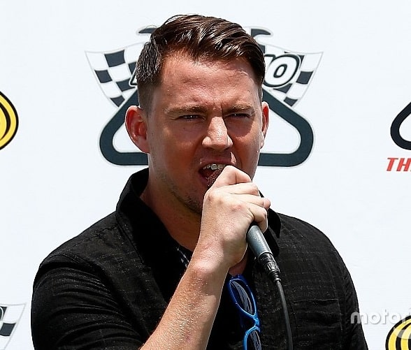 Grand marshal Honda Indy Grand Prix at Barber; Alabama's own Channing Tatum