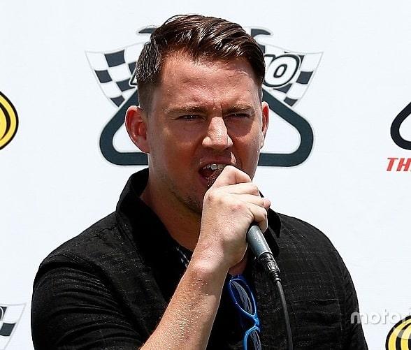 Grand marshal Honda Indy Grand Prix at Barber; Alabama's own Channing Tatum