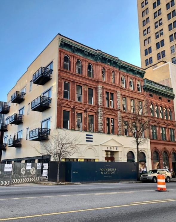 Founders Station To Open Downtown Birmingham Condos Restaurants A
