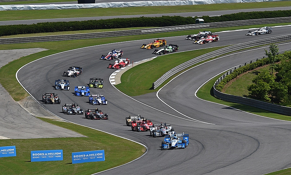 Honda Indy Grand Prix of Alabama resumes Monday morning at 11. Admission is free.