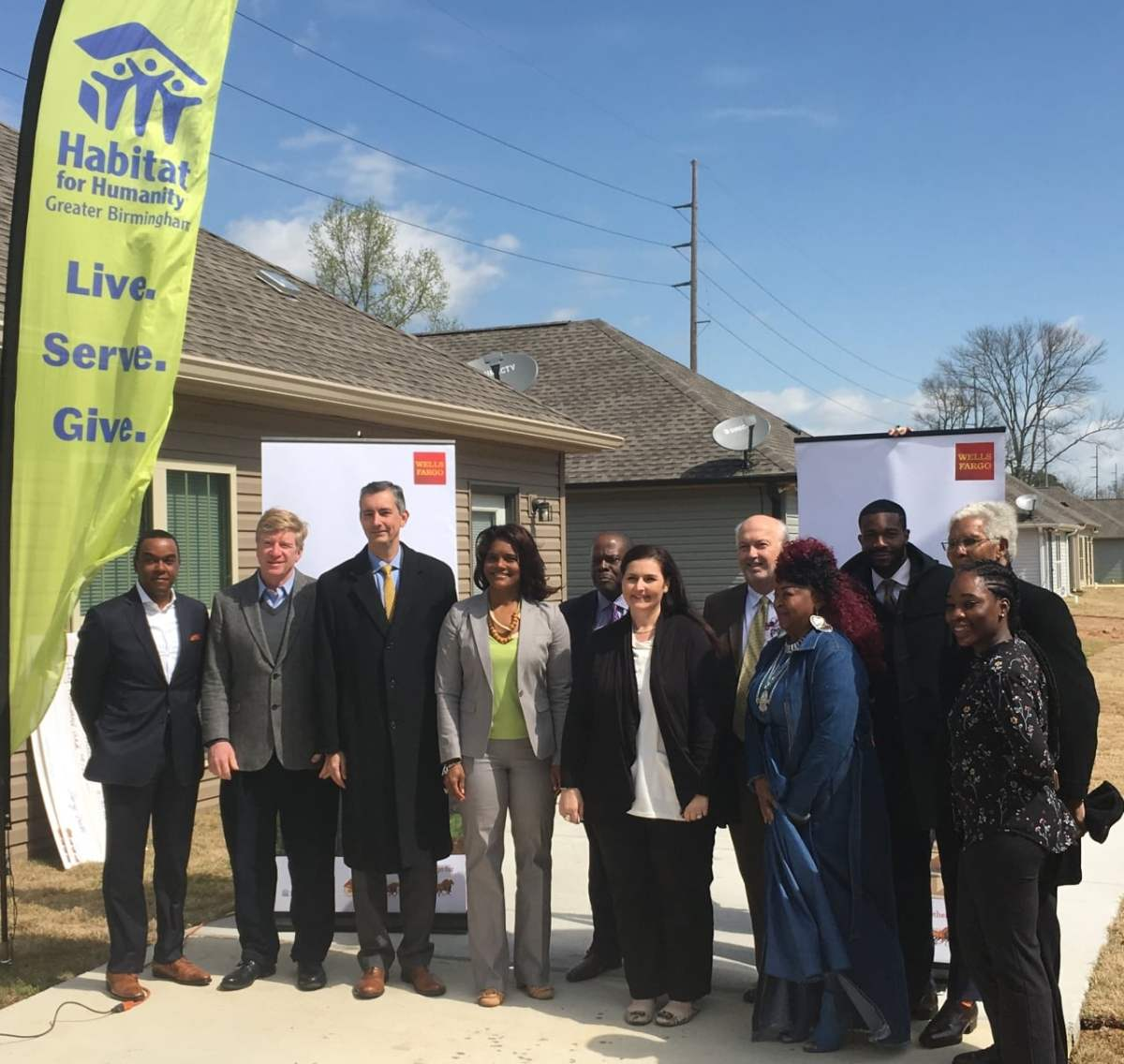 Wells Fargo donates $100,000 to revitalize Birmingham communities