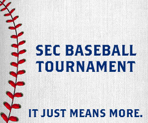 via Bruno Event Team - SEC Baseball Tournament (2018) in Birmingham May 22-27