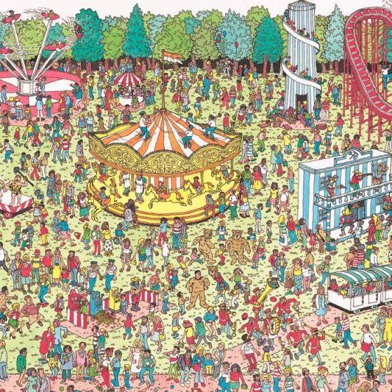 Waldo, Google Maps