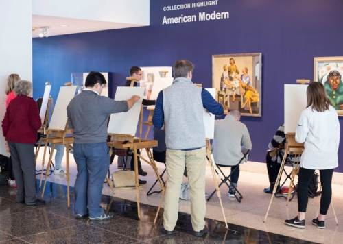 Birmingham, Birmingham Museum of Art, drawing, sketching, galleries, Jamison Harper, artists, art classes