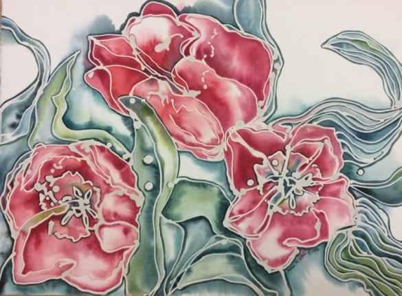 Birmingham, Birmingham Museum of Art, art, watercolor, Susan Vitali, batik watercolor, painting