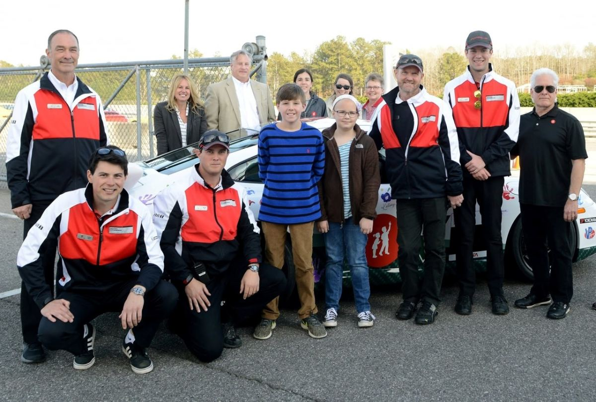 Racing for Children's puts cancer research in the fast lane on April 20