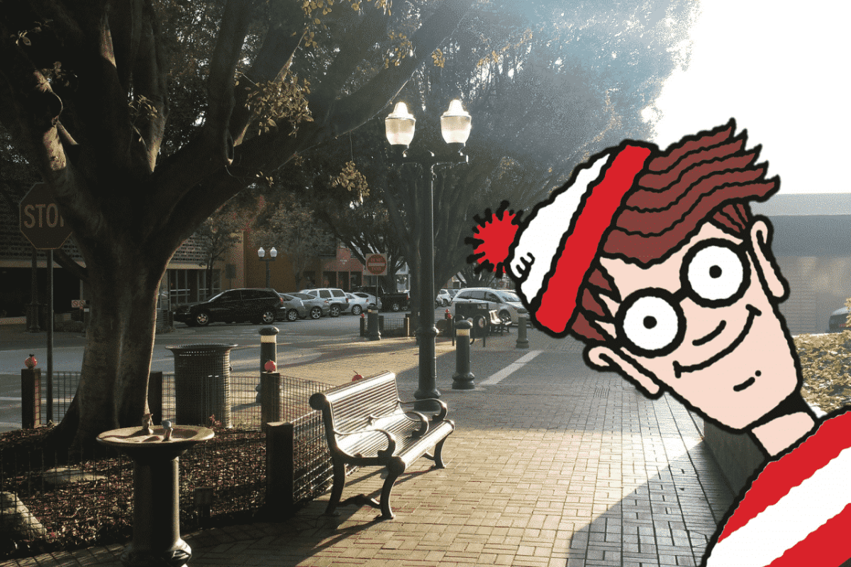 Alabama spin on Google Map's Where's Waldo app for April Fools week
