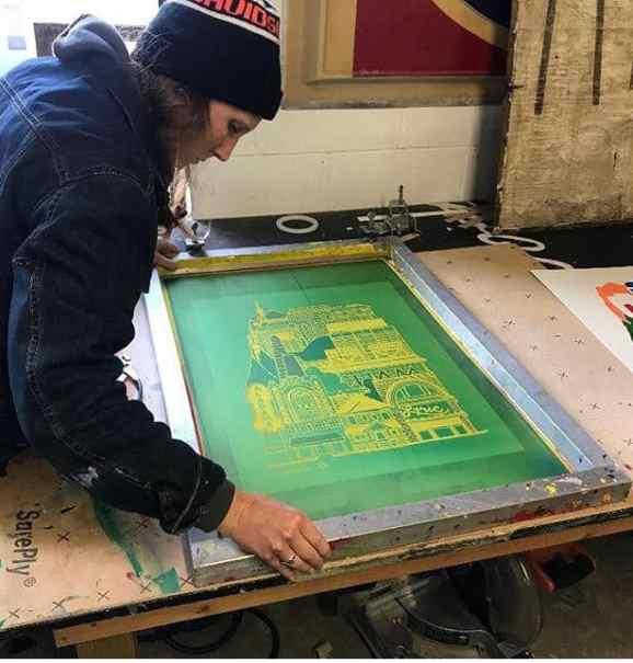 Birmingham, Yellowhammer Creative, screen printing, art, Make BHM