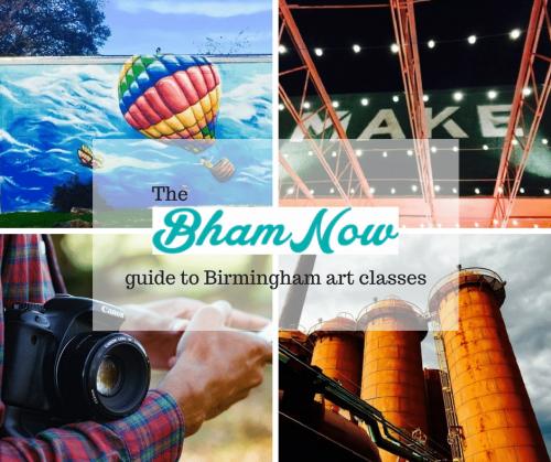 Birmingham art classes