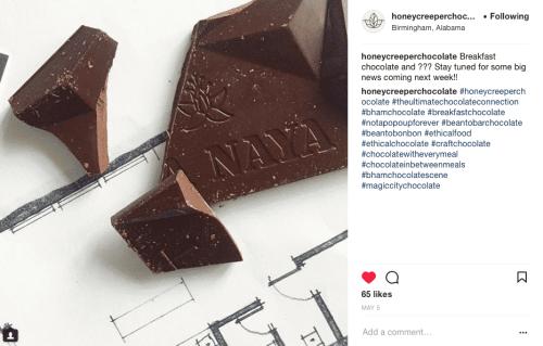 Birmingham, Alabama. Morris Avenue revitalization. Honeycreeper Chocolate and basic. dual storefront. Birmingham retail row.