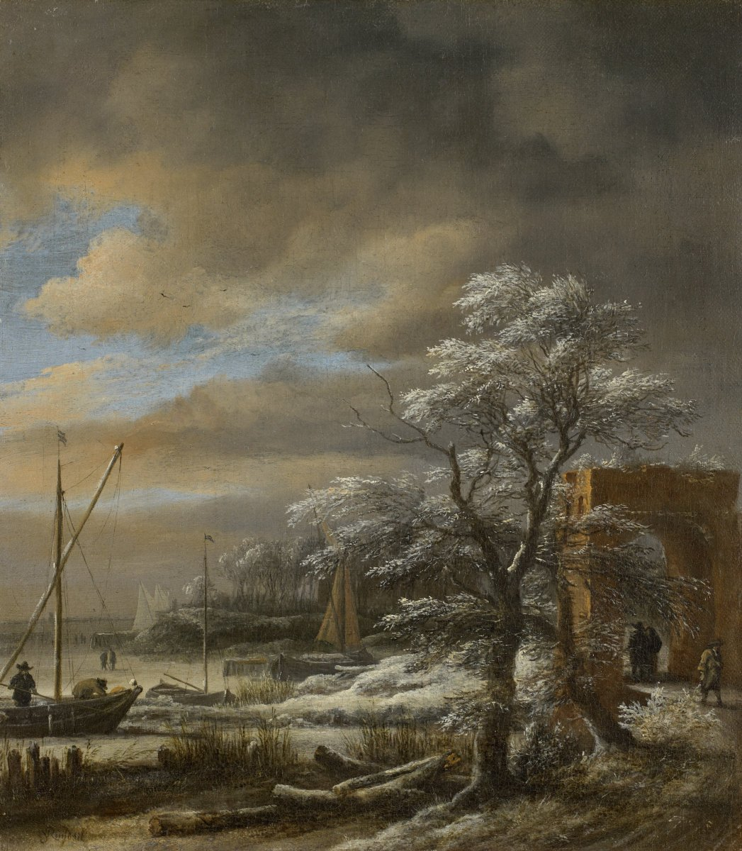A Weather Eye: Dutch Painters Invent Atmosphere