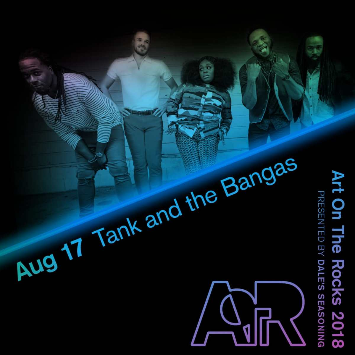 Art On The Rocks // Tank and the Bangas