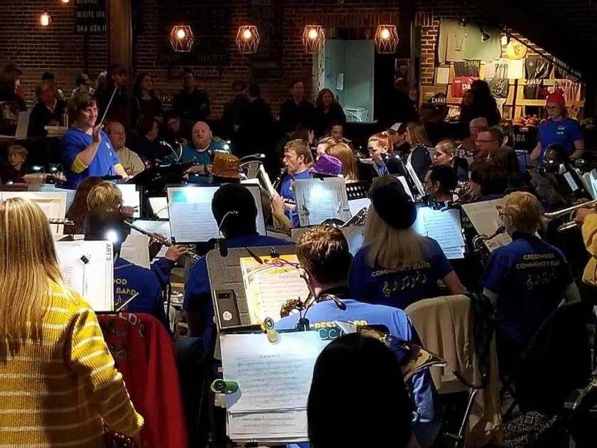 Birmingham, Crestwood Community Band, Stacey Gordon, community band, community band in Birmingham