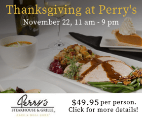 Thanksgiving at Perry's Steakhouse