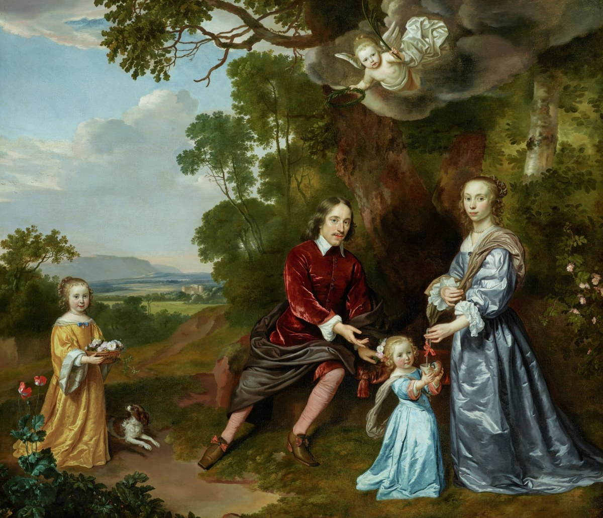 Portrait of the Van der Graeff Family
