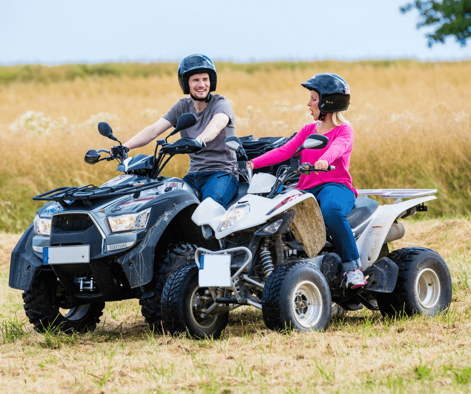 3 ways to put safety first on those all-terrain vehicles (ATVs, four-wheelers, quads) from Children's of Alabama