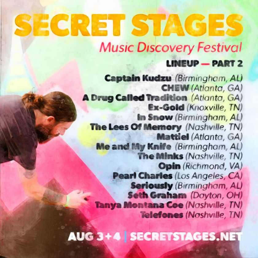 Birmingham, Secret Stages, Secret Stages Part 2, Birmingham bands, Birmingham music festivals
